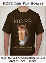 HOPE Tees for Horses